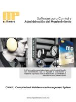 Informacioón CMMS MPsoftware